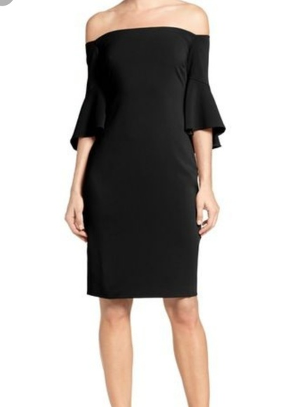 Laundry By Shelli Segal Dresses & Skirts - NWT Off the shoulder Dress With Bell Sleeve